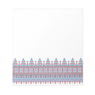 Cross-stitch design notepad