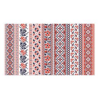 Cross-stitch design Patterns Business Card