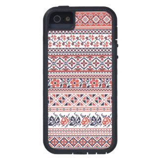 Cross-stitch design Patterns Case For iPhone SE/5/5s