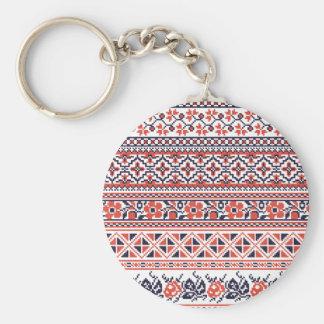 Cross-stitch design Patterns Key Chains