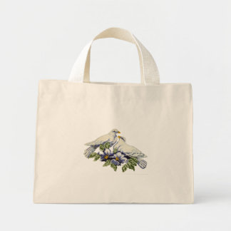 Cross stitch Doves Bag