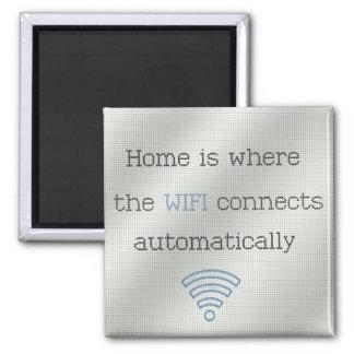 Cross Stitch Home WIFI Magnet