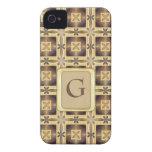 Cross Stitch iPhone 4 Case-Mate Cases