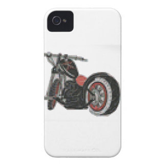 cross stitch motorcycle embroidery iPhone 4 Case-Mate case