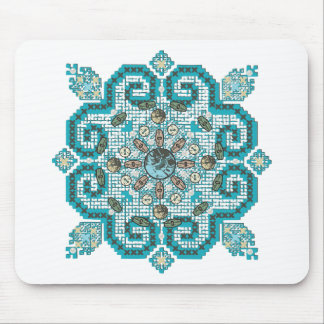 cross stitch mouse pad