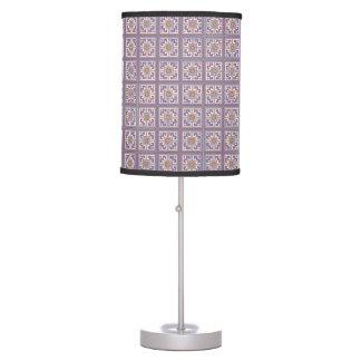 Cross Stitch Table & Pendant Lamps | Zazzle