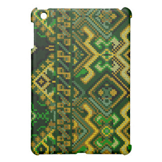 Cross Stitch Pattern iPad Hard Case Cover For The iPad Mini