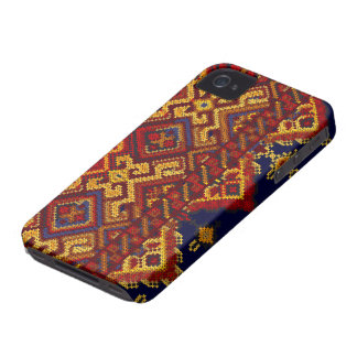 Cross Stitch Pattern iPhone 4/4S ID Case