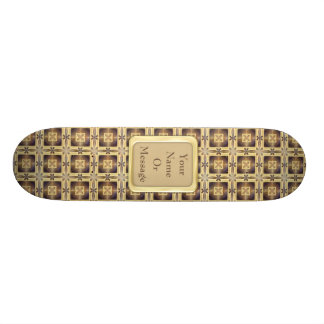 Cross Stitch Skateboard Deck
