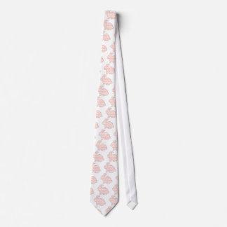 Cross stitch Spotty rabbit Neck Tie
