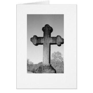 Cross Stone Card
