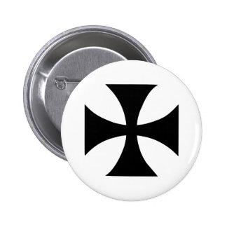 Cross Templar Button