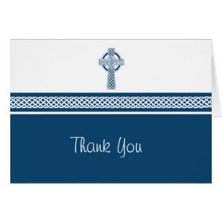 Cross Thank You Note Card