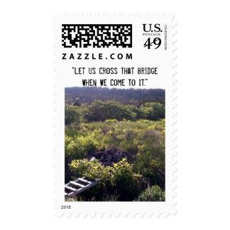 Cross That Bridge Stamp