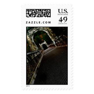 Cross the Crooked Bridge Postage Stamps