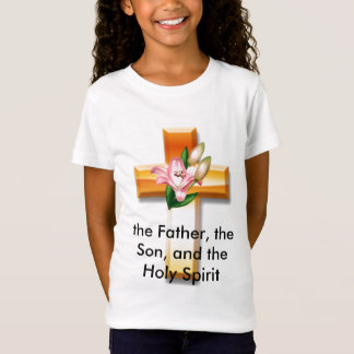 cross, the Father, the Son, and the Holy Spirit T-Shirt