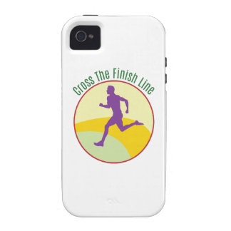 Cross The Finish Line Vibe iPhone 4 Case