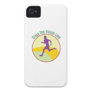 Cross The Finish Line iPhone 4 Cover