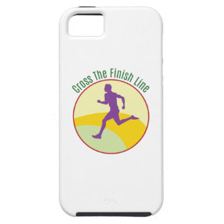 Cross The Finish Line iPhone 5 Cases