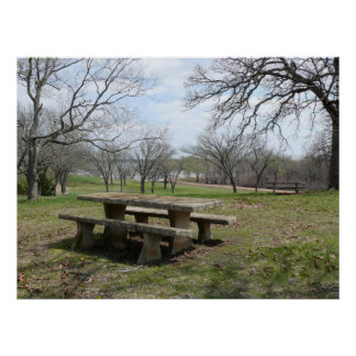 Cross Timbers State Park Poster
