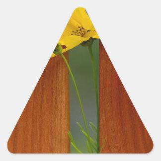Cross Triangle Sticker