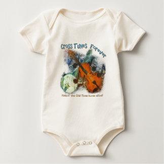 Cross Tunes Forever Baby Bodysuit