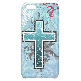 Cross turqouise solid iPhone 5C cover