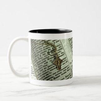 cross Two-Tone coffee mug