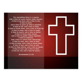 Cross & Verse Postcard