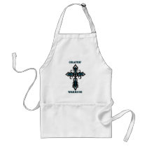 Cross/Warrior...Graves' Adult Apron