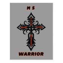 Cross/Warrior...MS Postcard