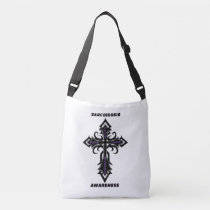 Cross/Warrior...Sarcoidosis Crossbody Bag