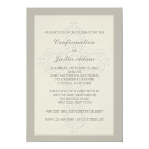 Religious Invitations Announcements Zazzle