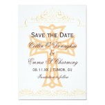 Cross Wedding Save the Date Cards