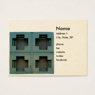 Cross Windows Business Card