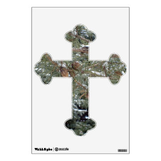 Cross Winter Nature Design Wall Decal