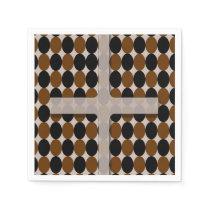 Cross with Polka Dots Napkin