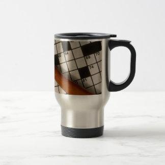 Cross Words Travel Mug