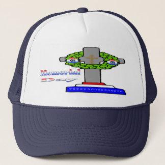 Cross & Wreath -  Memorial Day  Hat