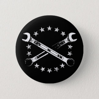 Cross Wrenches 517 Pinback Button