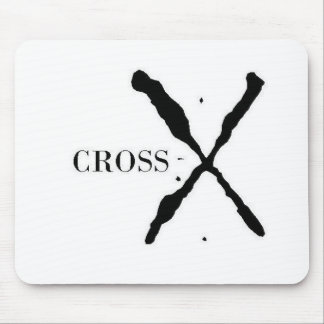 Cross-X Products Mouse Pad