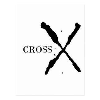 Cross-X Products Postcard