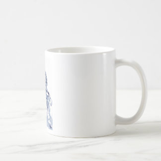 cross you're legs and wait. with Jun Classic White Coffee Mug