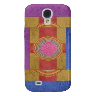CROSS Your Heart - Art101 Simple Blocks n Circles Samsung Galaxy S4 Covers