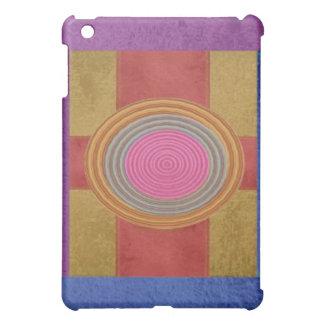 CROSS Your Heart - Art101 Simple Blocks n Circles iPad Mini Covers