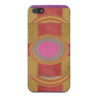 CROSS Your Heart - Art101 Simple Blocks n Circles iPhone 5 Case