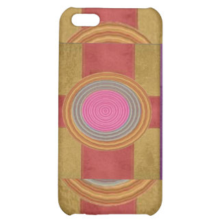 CROSS Your Heart - Art101 Simple Blocks n Circles Cover For iPhone 5C