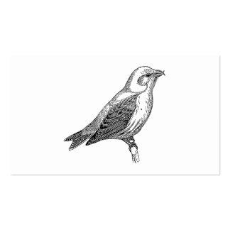 Crossbill Bird Art Double-Sided Standard Business Cards (Pack Of 100)