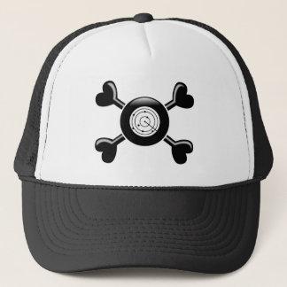 Crossbones Air Traffic Control Trucker Hat