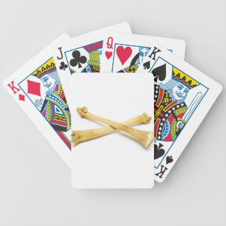 Crossbones Bicycle Playing Cards